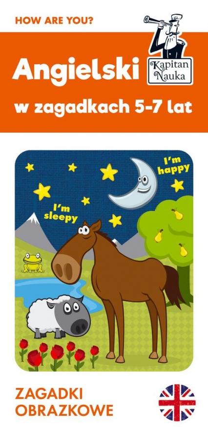 Angielski 5-7 lat Zagadki obrazkowe - Agata Pietrzak | okładka