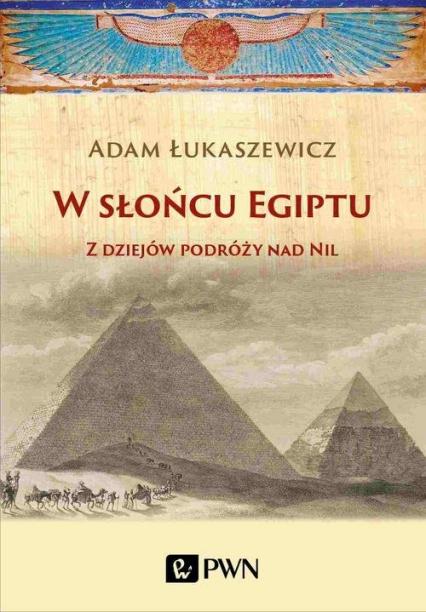 W słońcu Egiptu Z dziejów podróży nad Nil - Adam Łukaszewicz   okładka