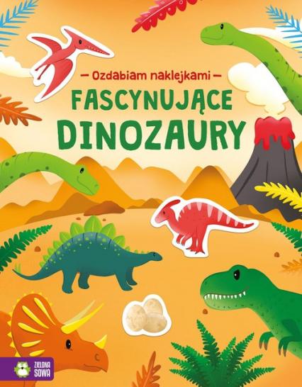 Ozdabiam naklejkami Fascynujące dinozaury - null   okładka