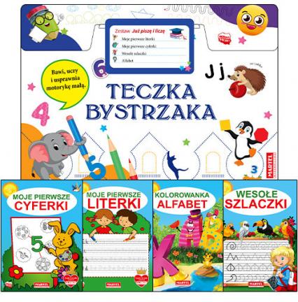 Teczka bystrzaka Zestaw Już piszę i liczę - zbiorowa praca | okładka