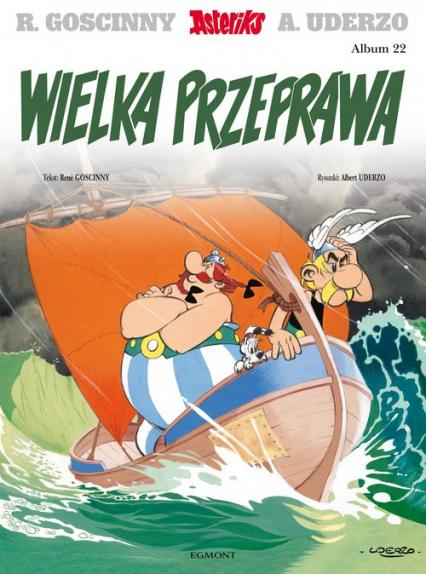 Asteriks Wielka przeprawa 22 - Rene Goscinny | okładka