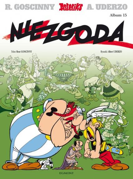 Asteriks Niezgoda 15 - Rene Goscinny | okładka