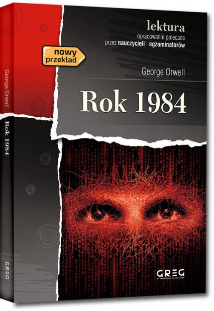 Rok 1984 - George Orwell   okładka