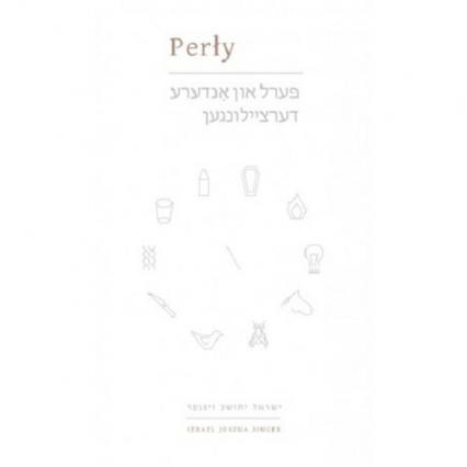 Perły - Singer Izrael Joszua | okładka