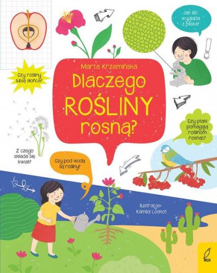 Co i jak? Dlaczego rośliny rosną? - Marta Krzemińska   okładka