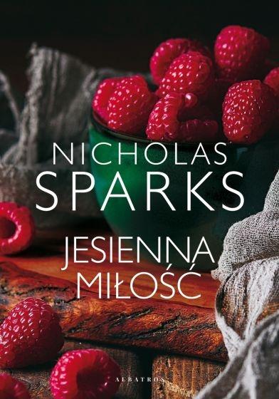 Jesienna miłość - Nicholas Sparks | okładka