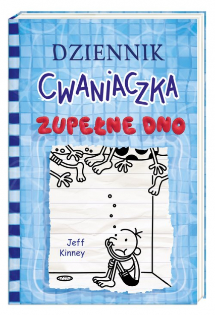 Dziennik cwaniaczka 15. Zupełne dno - Jeff Kinney | okładka