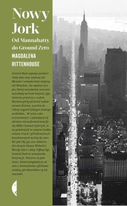Nowy Jork Od Mannahatty do Ground Zero - Magdalena Rittenhouse | okładka