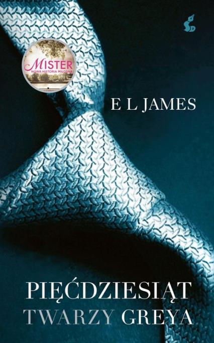 Pięćdziesiąt twarzy Greya - EL James   okładka