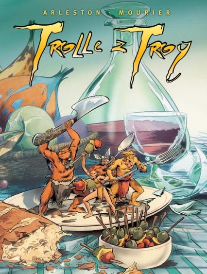 Trolle z Troy Tom 4 vol. 13-16 -  | okładka
