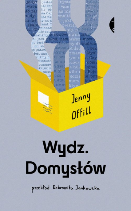 Wydz Domysłów - Jenny Offill | okładka