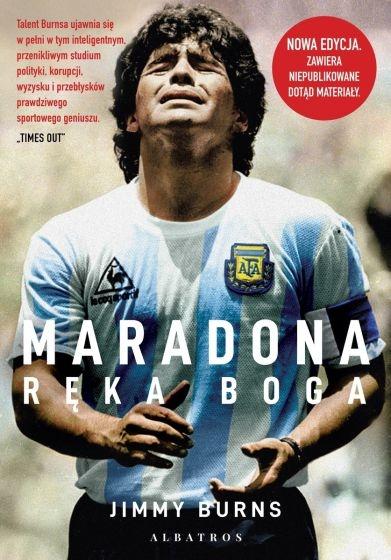 Maradona. Ręka Boga - Jimmy Burns | okładka