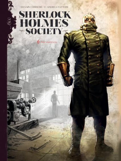 Sherlock Holmes Society Tom 6 Pole manewru - Sylvain Cordurie   okładka