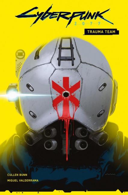 Cyberpunk 2077 Trauma Team Tom 1 - Miguel Valderrama | okładka