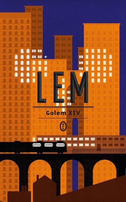 Golem XIV - Stanisław Lem   okładka