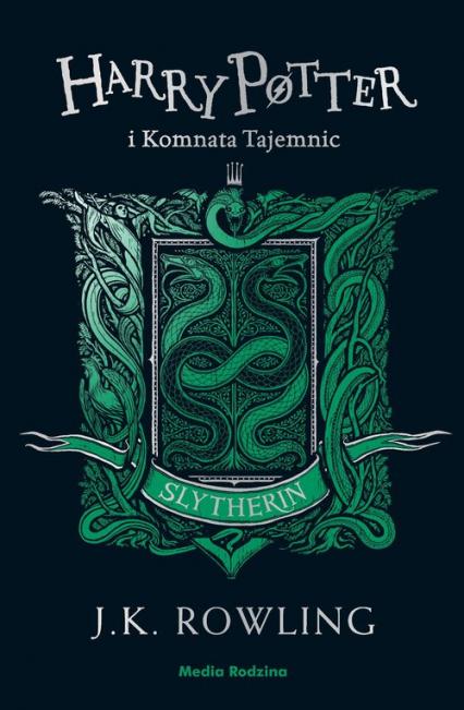 Harry Potter i Komnata Tajemnic (Slytherin) - Rowling Joanne K. | okładka