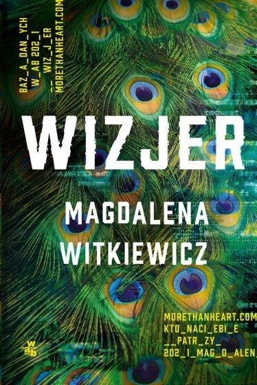 Wizjer - Magdalena Witkiewicz | okładka