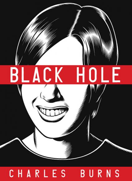 Black Hole - Charles Burns   okładka