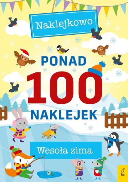 Ponad 100 naklejek Wesoła zima -    okładka