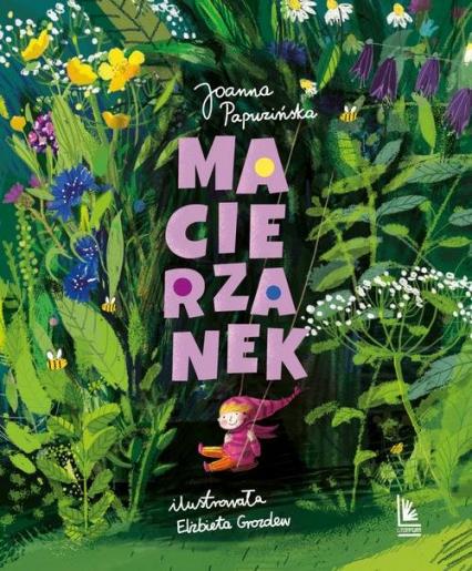 Macierzanek - Joanna Papuzińska | okładka