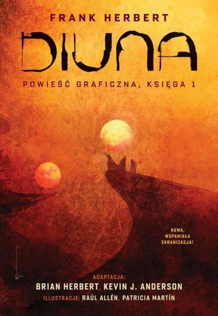 Diuna Powieść graficzna Księga 1 - Frank Herbert   okładka