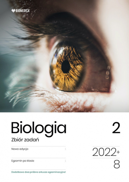 Biologia Zbiór zadań Tom 2 Egzamin po klasie 8 - Cichy Dorota, Bąk Bogumił, Bryś Maciej, Grzywna Marek | okładka