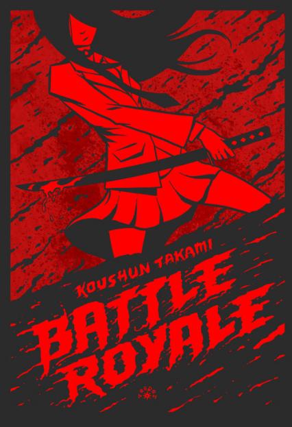 Battle Royale - Koushun Takami | okładka