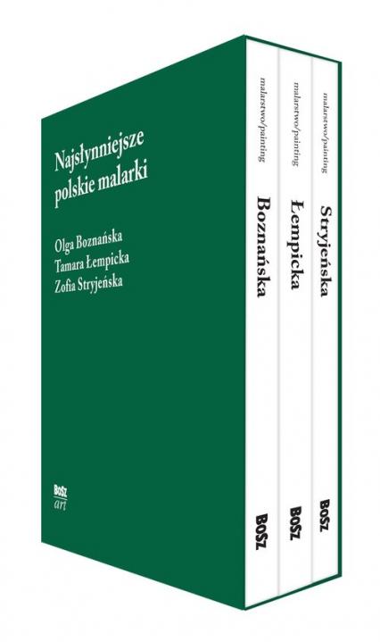 Najsłynniejsze polskie malarki zestaw w etui - , | okładka