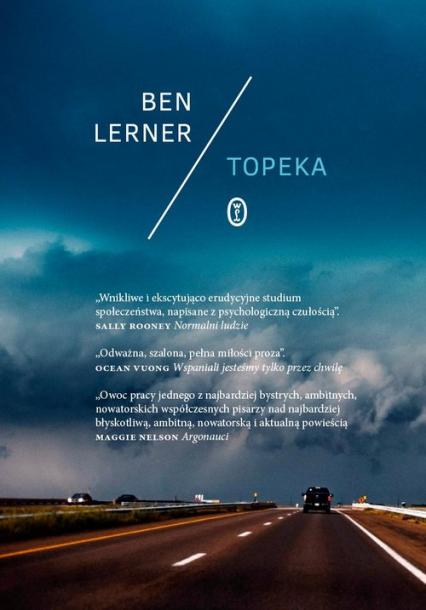 Topeka - Ben Lerner | okładka