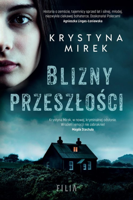 Blizny przeszłości - Krystyna Mirek   okładka
