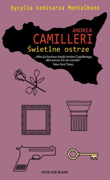 Świetlne ostrze - Andrea Camilleri | okładka
