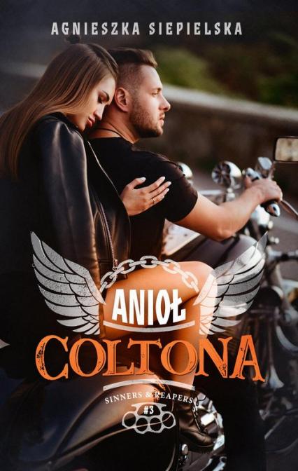 Anioł Coltona  - Agnieszka Siepielska | okładka