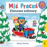Miś Pracuś. Zimowe zabawy  - Benji Davies | okładka