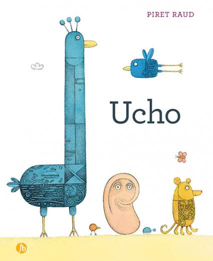 Ucho - Piret Raud | okładka