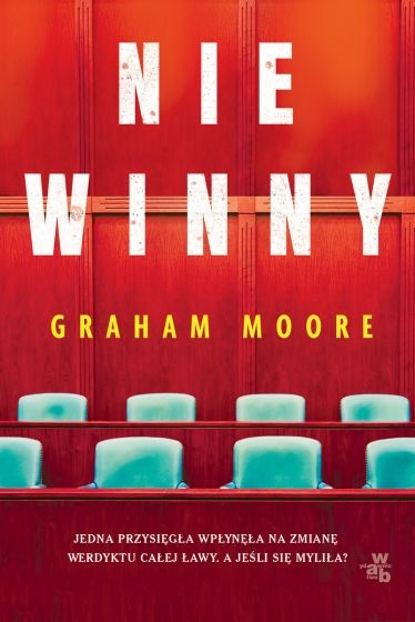 Niewinny - Graham Moore   okładka
