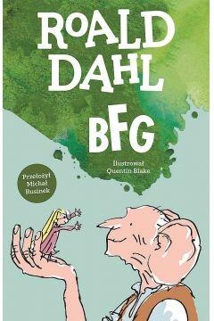 Bfg - Roald Dahl   okładka