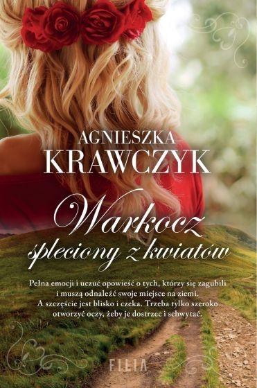 Warkocz spleciony z kwiatów  - Agnieszka Krawczyk   okładka
