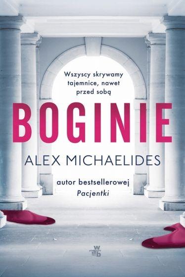 Boginie - Alex Michaelides | okładka