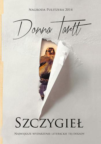 Szczygieł - Donna Tartt | okładka