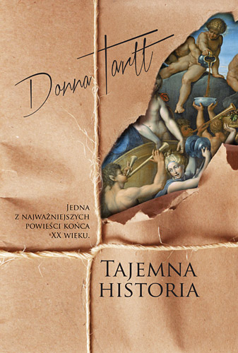 Tajemna historia - Donna Tartt | okładka