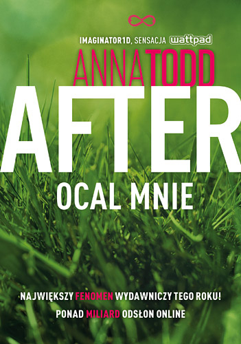 After 3. Ocal mnie - Anna Todd | okładka