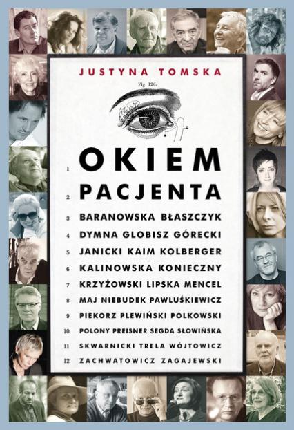 Okiem pacjenta - Justyna Tomska  | okładka
