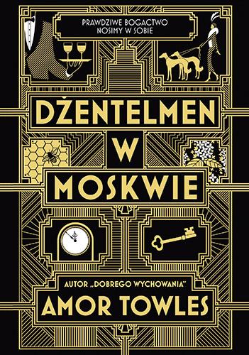 Dżentelmen w Moskwie - Amor Towles | okładka