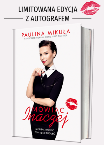 Mówiąc inaczej - Paulina Mikuła | okładka