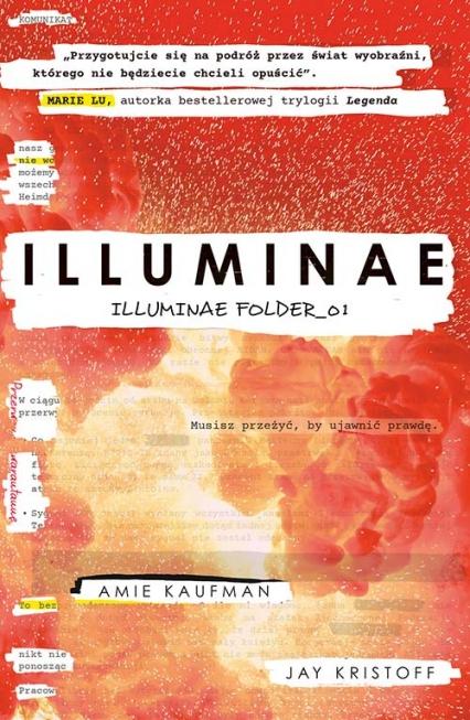 Illuminae. Illuminae Folder_01  - Kaufman Amie, Kristoff Jay | okładka