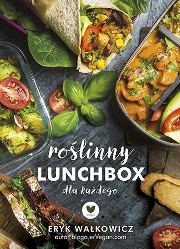 Roślinny lunchbox dla każdego - Eryk Wałkowicz | okładka