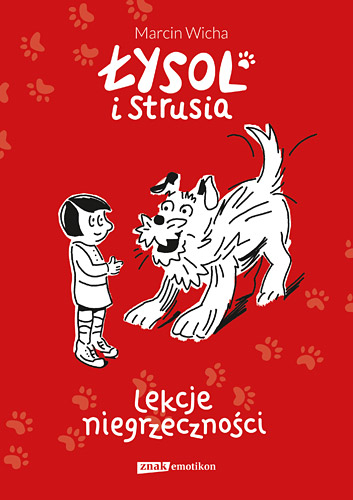 Łysol i Strusia - Marcin Wicha | okładka