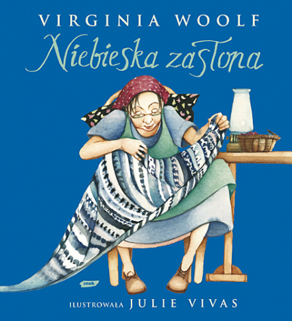 Niebieska zasłona - Virginia Woolf  | okładka