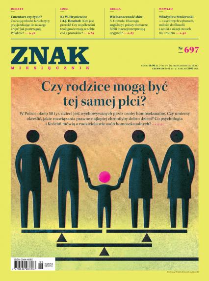ZNAK 697 6/2013: Czy rodzice mogą być tej samej płci? -  | okładka