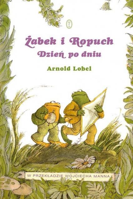 Żabek i Ropuch. Dzień po dniu - Arnold Lobel | okładka
